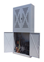 weapons storage cabinet